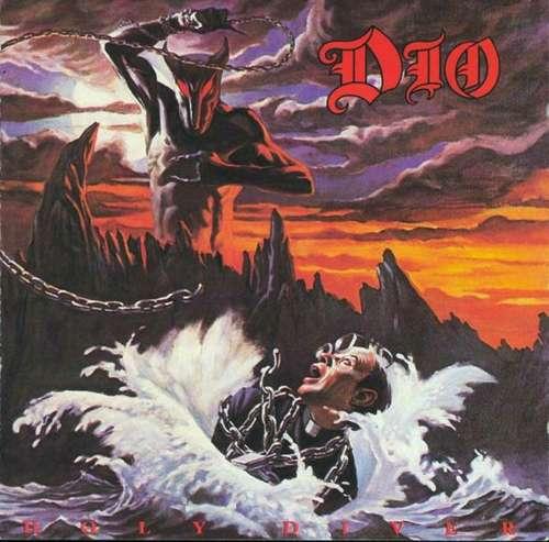 Cover zu Dio (2) - Holy Diver (LP, Album) Schallplatten Ankauf