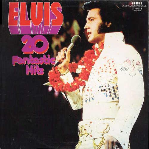 Cover Elvis Presley - 20 Fantastic Hits (LP, Comp, Clu) Schallplatten Ankauf