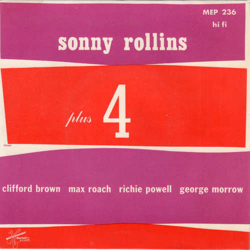 Bild Sonny Rollins - Plus 4 (7, EP, Mono) Schallplatten Ankauf