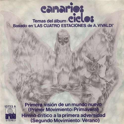 Cover Canarios - Temas Del Album Ciclos Basado En Las Cuatro Estaciones De A. Vivaldi (7, Single) Schallplatten Ankauf