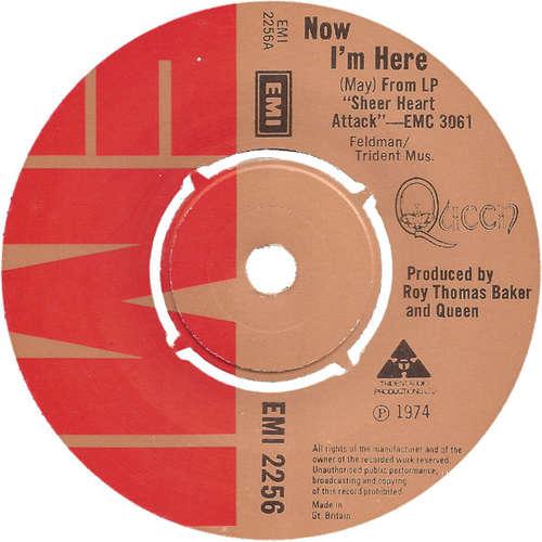 Cover Queen - Now I'm Here (7, Single) Schallplatten Ankauf
