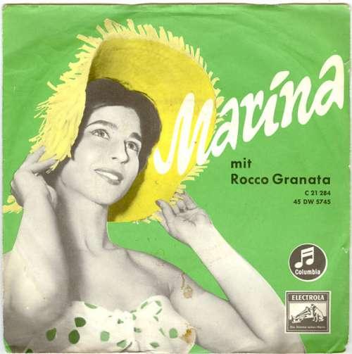 Cover Rocco Granata - Marina (7, Single) Schallplatten Ankauf