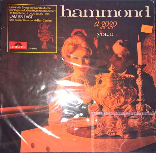 Cover James Last & His Hammond Bar Combo - Hammond À Gogo Vol. II (LP, Album) Schallplatten Ankauf