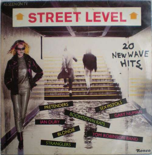 Cover Various - Street Level (20 New Wave Hits) (LP, Comp) Schallplatten Ankauf