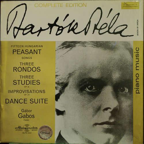 Bild Béla Bartók, Gábor Gabos - Fifteen Hungarian Pesant / Three Rondes / Threestudies Op. 18 / Improvisations Op. 20 / Dance Suite (LP, Album) Schallplatten Ankauf