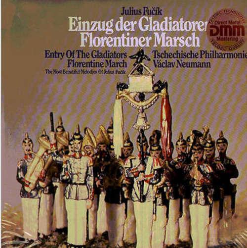 Cover zu Julius Fučík - Einzug Der Gladiatoren - Florentiner Marsch (LP, RE) Schallplatten Ankauf
