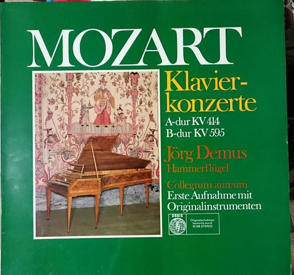 Bild Mozart* - Jörg Demus - Collegium Aureum - Klavierkonzerte A-Dur KV 414 / B-Dur KV 595 - Erste Aufnahme Auf Originalinstrumenten (LP) Schallplatten Ankauf