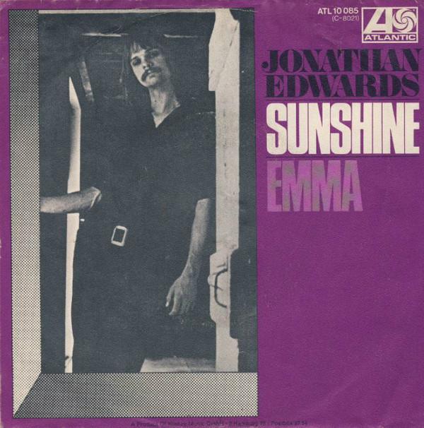Bild Jonathan Edwards (2) - Sunshine (7, Single) Schallplatten Ankauf