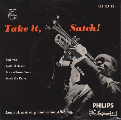 Bild Louis Armstrong Und Seine All-Stars* - Take It, Satch! (7, EP, RP) Schallplatten Ankauf