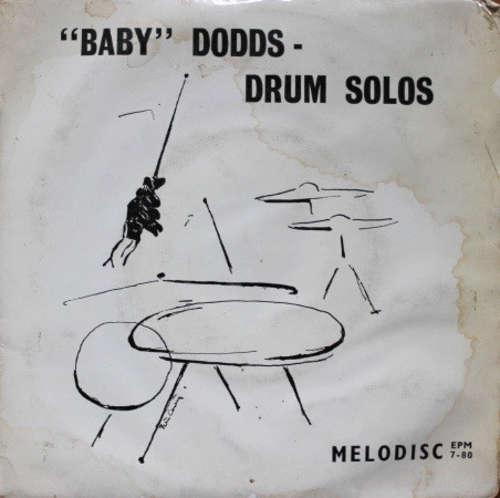 Bild Baby Dodds - Drum Solos (7, EP, pus) Schallplatten Ankauf