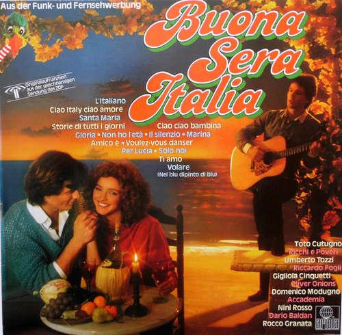 Cover zu Various - Buona Sera Italia (LP, Comp, Club) Schallplatten Ankauf