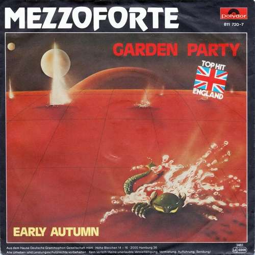 Cover Mezzoforte - Garden Party (7, Single) Schallplatten Ankauf