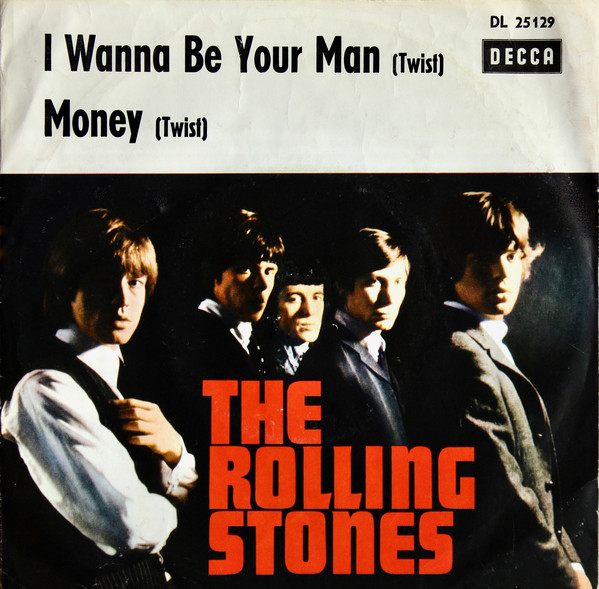 Cover The Rolling Stones - I Wanna Be Your Man / Money (7, Single) Schallplatten Ankauf