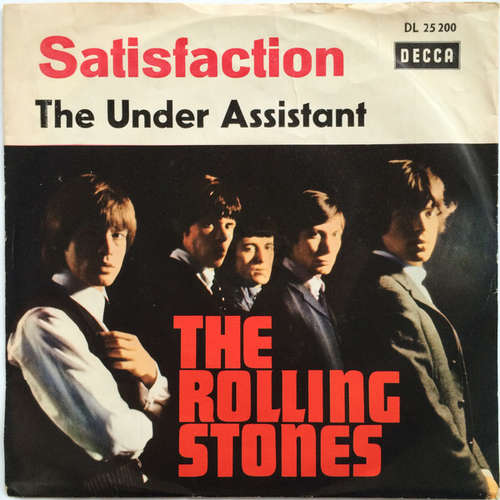 Cover The Rolling Stones - Satisfaction (7, Single) Schallplatten Ankauf