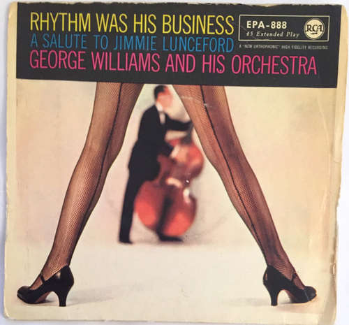 Bild George Williams And His Orchestra - Rhythm Was His Business (A Salute To Jimmie Lunceford), Volume 1 (7, EP) Schallplatten Ankauf