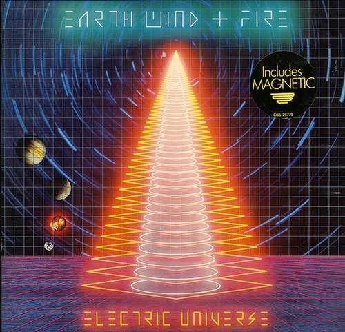 Cover Earth, Wind & Fire - Electric Universe (LP, Album, Gat) Schallplatten Ankauf