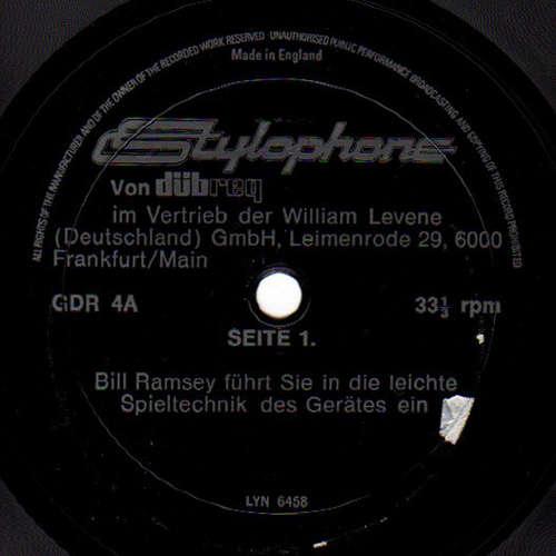 Cover Bill Ramsey - Stylophone Von Dübreq (Flexi, 7) Schallplatten Ankauf