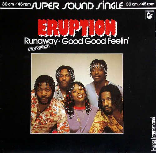 Bild Eruption (4) - Runaway / Good Good Feelin' (12, Maxi) Schallplatten Ankauf