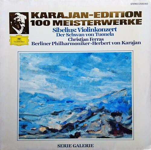 Bild Jean Sibelius, Christian Ferras, Berliner Philharmoniker, Herbert von Karajan - Violinkonzert / Der Schwan von Tuonela (LP, Album, RE) Schallplatten Ankauf