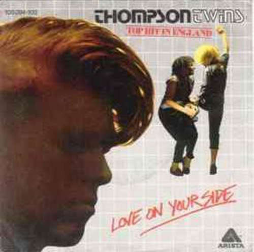 Bild Thompson Twins - Love On Your Side (7, Single) Schallplatten Ankauf