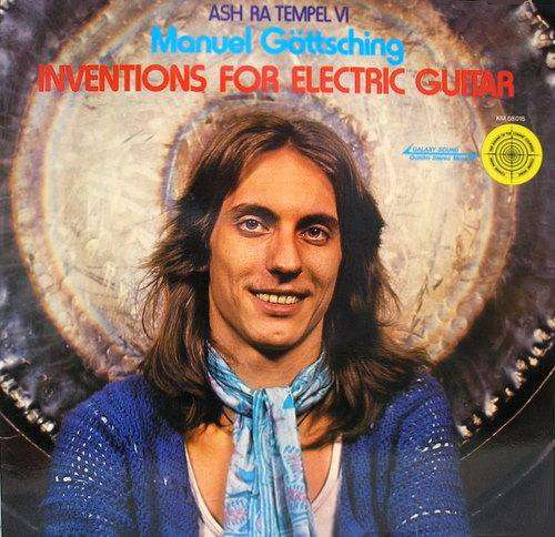 Cover Ash Ra Tempel, Manuel Göttsching - Inventions For Electric Guitar (LP, Album, Quad) Schallplatten Ankauf