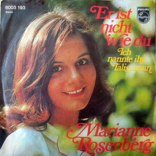 Cover zu Marianne Rosenberg - Er Ist Nicht Wie Du (7, Single) Schallplatten Ankauf
