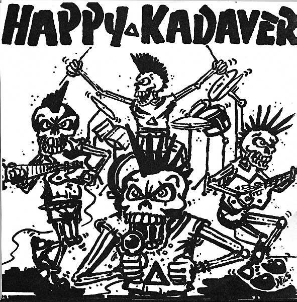 Cover Happy Kadaver - Schwarzer Schatten (7, W/Lbl, Tur) Schallplatten Ankauf