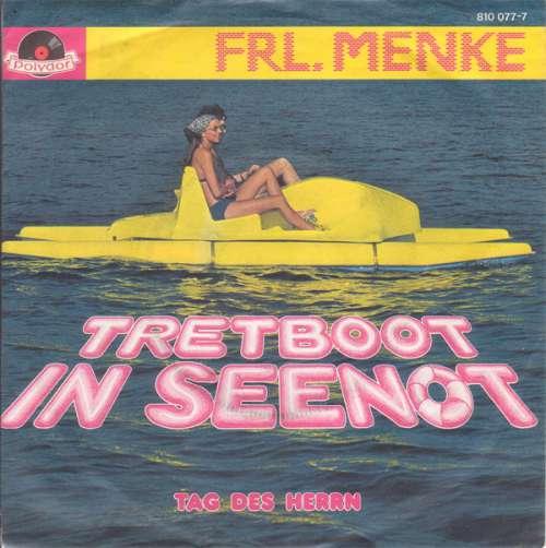 Cover Frl. Menke - Tretboot In Seenot (7, Single) Schallplatten Ankauf
