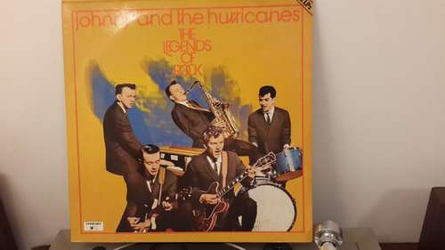Cover zu Johnny And The Hurricanes - The Legends of Rock, Vol. 1 (2xLP, Comp, RE) Schallplatten Ankauf