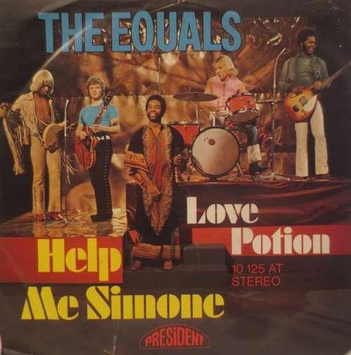 Cover The Equals - Help Me Simone / Love Potion (7, Single) Schallplatten Ankauf