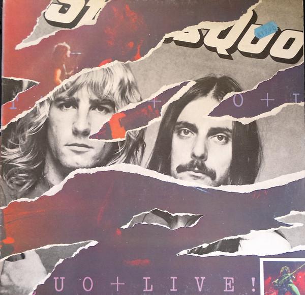 Cover Status Quo - Live (2xLP, Album, RE) Schallplatten Ankauf