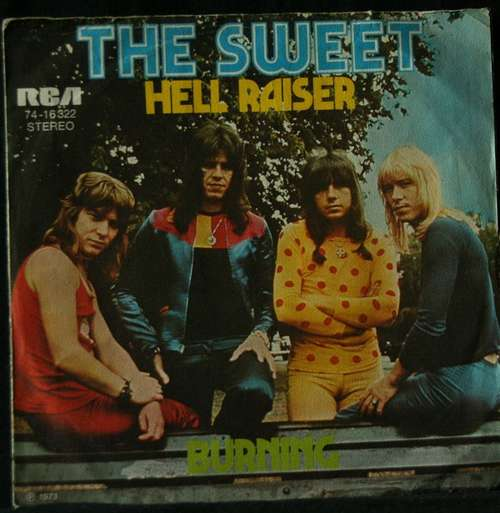 Bild The Sweet - Hell Raiser (7, RP) Schallplatten Ankauf