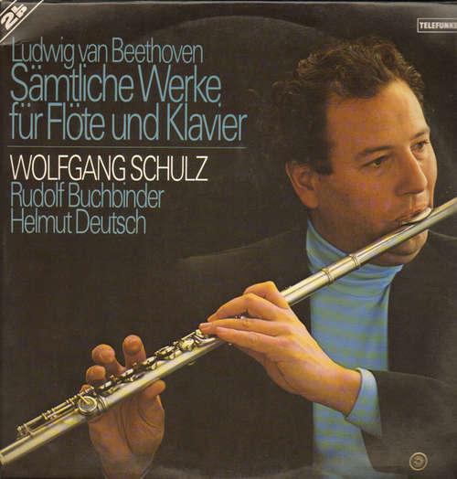 Bild Ludwig van Beethoven, Wolfgang Schulz (3), Rudolf Buchbinder, Helmut Deutsch - Sämtliche Werke für Flöte und Klavier (2xLP, Gat) Schallplatten Ankauf