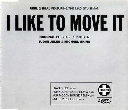 Bild Reel 2 Real Featuring The Mad Stuntman - I Like To Move It (CD, Single) Schallplatten Ankauf