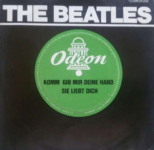 Cover The Beatles - Komm, Gib Mir Deine Hand / Sie Liebt Dich (7, Single, RE) Schallplatten Ankauf