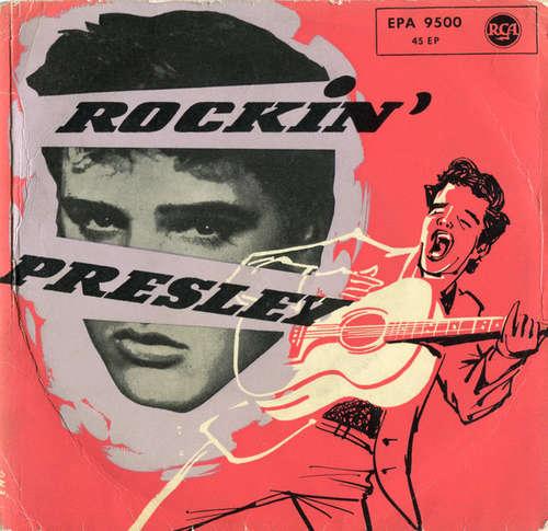 Cover Elvis Presley - Rockin' Presley (7, EP) Schallplatten Ankauf