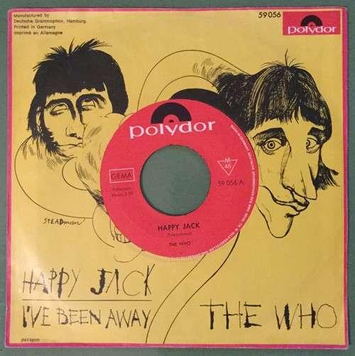 Bild The Who - Happy Jack / I've Been Away (7, Single, Mono) Schallplatten Ankauf