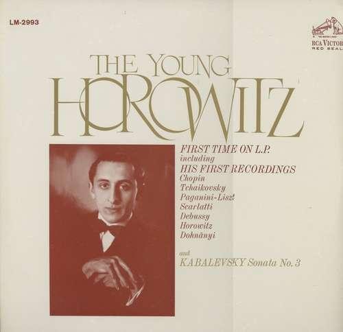 Cover zu Vladimir Horowitz - The Young Horowitz (LP, Album, Mono) Schallplatten Ankauf