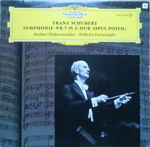 Cover zu Franz Schubert, Berliner Philharmoniker, Wilhelm Furtwängler - Sinfonie Nr. 7 C-Dur (Opus Posth.) (LP, Album, Mono, RE) Schallplatten Ankauf