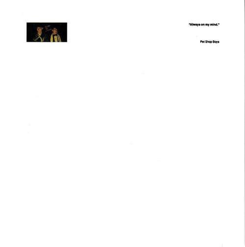 Cover Pet Shop Boys - Always On My Mind (7, Single) Schallplatten Ankauf