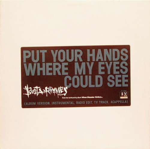Cover Busta Rhymes - Put Your Hands Where My Eyes Could See (12, Promo) Schallplatten Ankauf