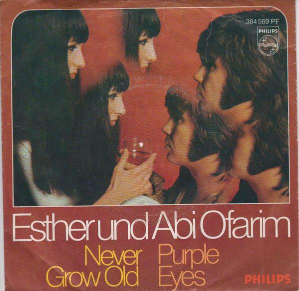 Bild Esther Und Abi Ofarim* - Never Grow Old / Purple Eyes (7, Single, Mono) Schallplatten Ankauf