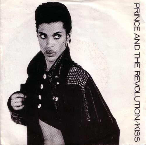 Cover zu Prince And The Revolution - Kiss (7, Single, Glo) Schallplatten Ankauf