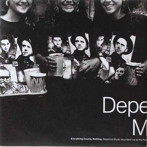 Cover Depeche Mode - Everything Counts, Nothing (7, Single) Schallplatten Ankauf