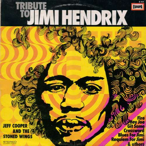 Cover Jeff Cooper And The Stoned Wings - Tribute To Jimi Hendrix (LP, Album) Schallplatten Ankauf