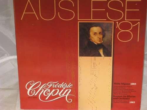 Bild Frédéric Chopin - Welte Mignon 1905 / Konzert Für Klavier Und Orchester (LP) Schallplatten Ankauf