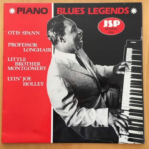 Bild Otis Spann, Professor Longhair, Little Brother Montgomery, Lyin' Joe Holley - Piano Blues Legends (12) Schallplatten Ankauf
