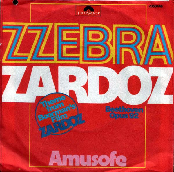 Cover Zzebra - Zardoz / Amusofe (7) Schallplatten Ankauf