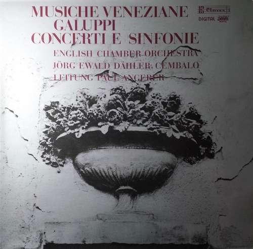 Bild Galuppi*, English Chamber Orchestra, Jörg Ewald Dähler, Paul Angerer - Musiche Veneziane - Concerti E Sinfonie (LP, Gat) Schallplatten Ankauf