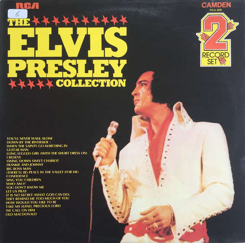 Cover Elvis Presley - The Elvis Presley Collection (2xLP, Comp, Mono, RE, Gat) Schallplatten Ankauf